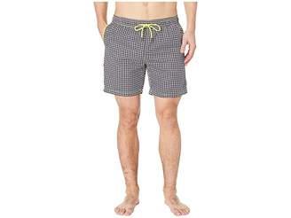 Mr.Swim Mr. Swim Houndstooth Printed Swim Trunks