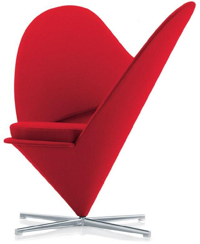 Vitra - heart chair by verner panton for vitra
