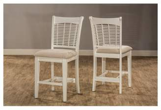 Hillsdale Furniture Bayberry 5pc Counter Height Dining Set with 4 Stools Off White