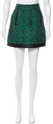Proenza Schouler Tweed Wool Skirt
