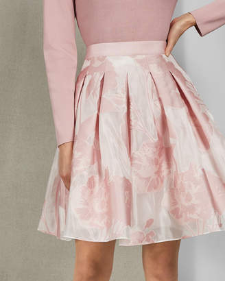 Ted Baker LAIIYA Jacquard mini skirt