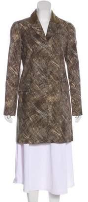 Kenzo Printed Wool Blazer