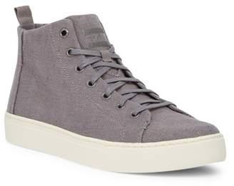Toms Lenox Mid Hemp Lace Up Sneaker