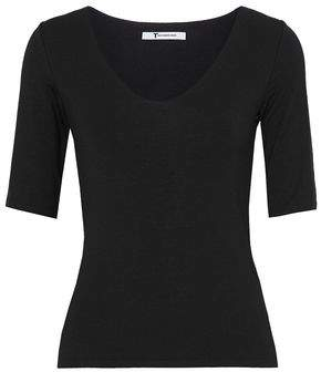 Alexander Wang Cutout Stretch-Modal Top