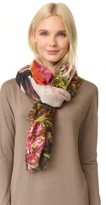 Yigal Azrouel Printed Scarf $385 thestylecure.com