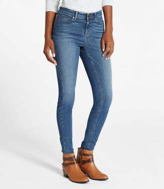 L.L. Bean L.L.Bean True Shape Lightweight Jeans, Skinny Favorite Fit