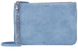 Sandro Suede Addict Pouch Bag