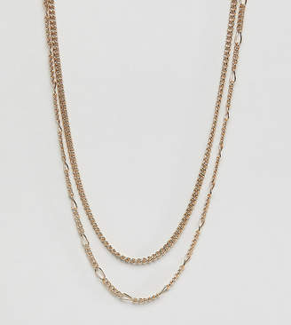 Liars & Lovers gold multi chain necklace