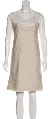 Chloé Silk Knee-Length Dress
