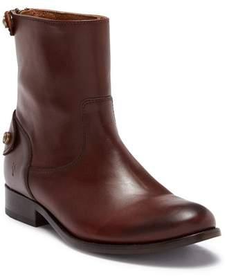 Frye Melissa Button Back Zip Short Boot