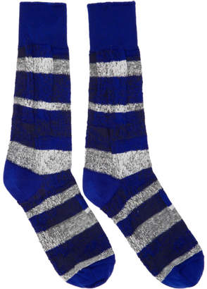 Issey Miyake Blue Sand Socks