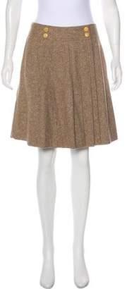 CNC Costume National Tweed Mini Skirt