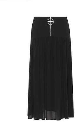 Givenchy Wool and silk skirt