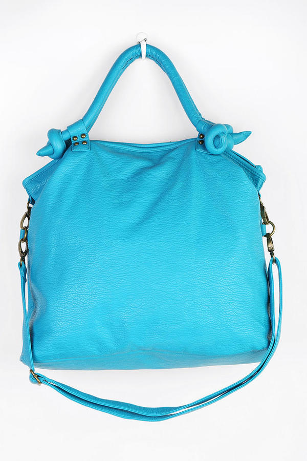 Urban Outfitters Cooperative Vegan Leather Knotty Shoulder Bag