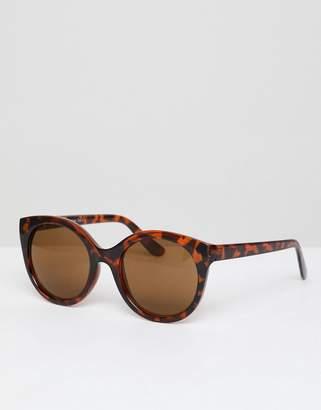 A. J. Morgan Aj Morgan Round Lens Sunglasses In Tort Frame