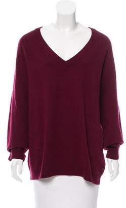 Alexander Wang V-Neck Wool Sweater