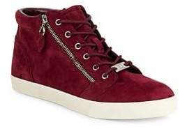 Lauren Ralph Lauren Reace High-Top Leather Platform Sneakers