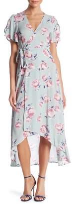 re:named apparel Emmy Ruffle Maxi Dress