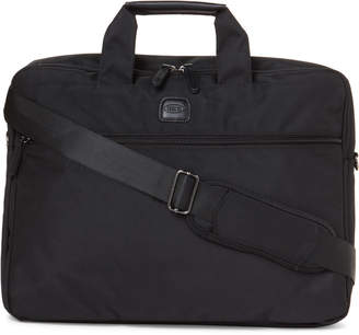 Bric's Black Sienna Slim Briefcase