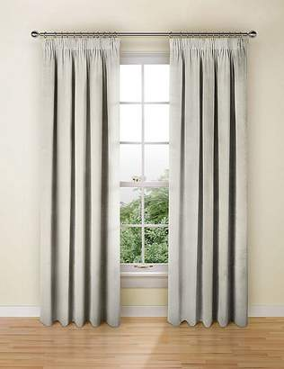 Marks and Spencer Stripe Pencil Pleat Curtains