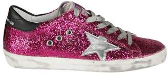 Golden Goose Glittered Sneakers
