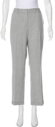 T Tahari High-Rise Straight-Leg Pants w/ Tags