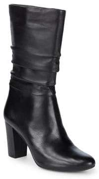Anne Klein Nyssa Slouchy Leather Boots
