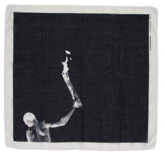 Rick Owens Torch Square Scarf