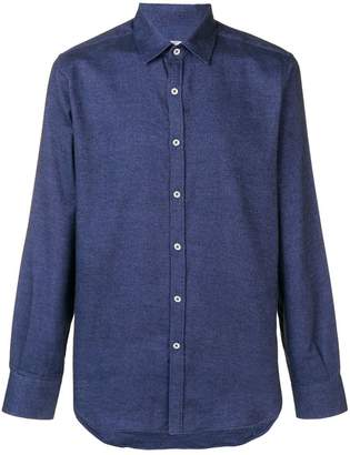 Canali formal regular-fit shirt