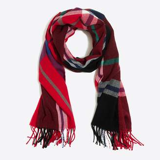 J.Crew Classic plaid scarf