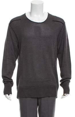 John Varvatos Scoop Neck Sweater