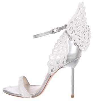 Sophia Webster Evangeline Metallic Sandals