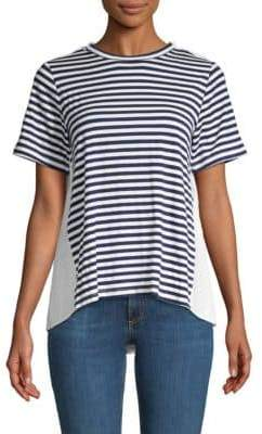Clu Striped Colorblock Tee