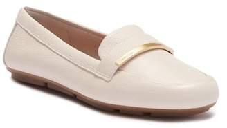 Calvin Klein Lilliana Pebble Leather Loafer