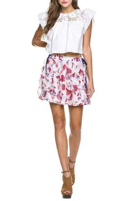 Endless Rose Poppy Ruffle Skirt