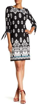 Sandra Darren 3/4 Sleeve Dress