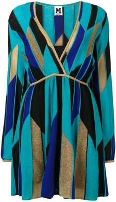 M Missoni contrast panels dress