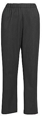 Dries Van Noten Women's Pinstripe Trousers