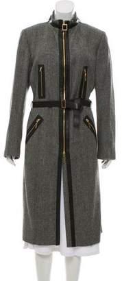 Gucci Long Herringbone Coat