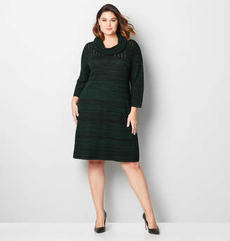 Avenue Spacedye Sweater Dress