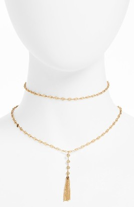 Women's Baublebar Abbie Tiered Y-Choker $36 thestylecure.com