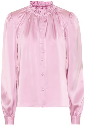 Co Satin blouse