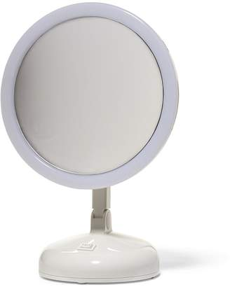 Floxite 10x Magnifying 360 Degree Lighted Vanity Mirror