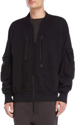 Thom/Krom Black Utility Jacket