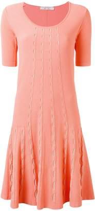 D-Exterior D.Exterior knitted flared dress