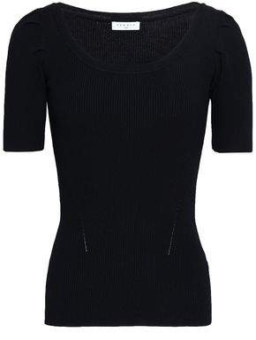 Sandro Ribbed-knit Top