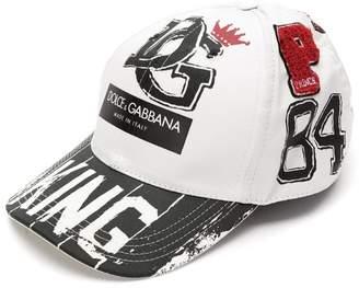 Dolce & Gabbana King printed baseball cap