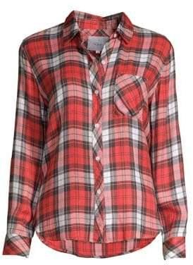 Rails Hunter Rayon Plaid Shirt