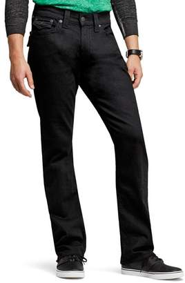 True Religion Ricky Relaxed Fit Jeans in Black Midnight