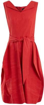 VIVIENNE WESTWOOD ANGLOMANIA Lotus tie-waist cotton dress